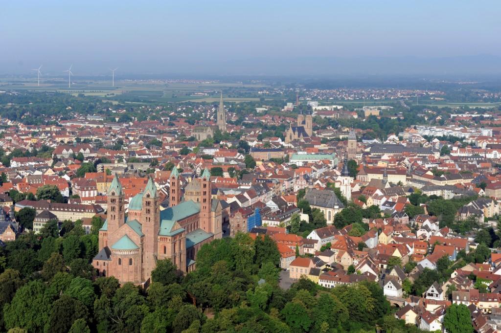 Luftbild Speyer